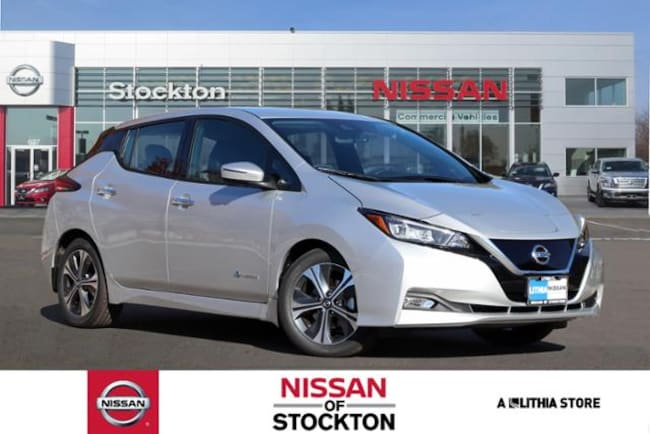 New 2019 Nissan LEAF SL Hatchback Stockton, CA