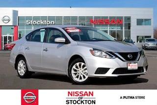 Used 2018 Nissan Sentra SV CVT Sedan Stockton, CA