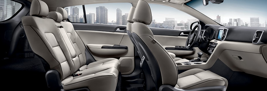 Kia Interior Vehicle Features
