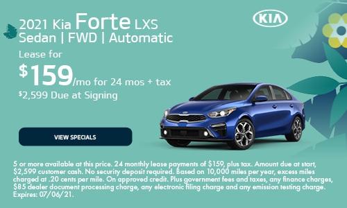 2021 Kia Forte LXS Sedan | FWD | Automatic