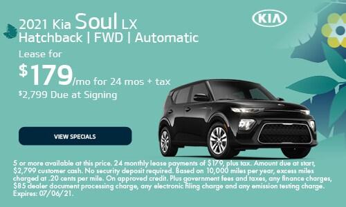 2021 Kia Soul LX Hatchback | FWD | Automatic