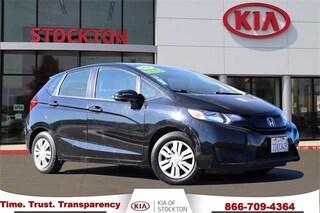 Used 2016 Honda Fit 5dr HB CVT LX Hatchback Stockton, CA