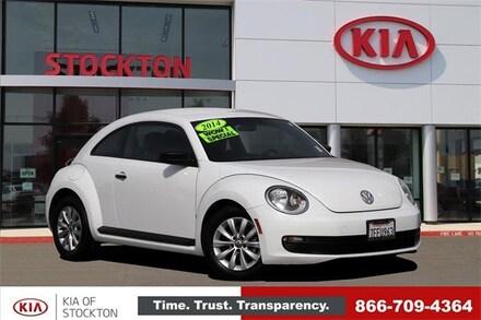 2014 Volkswagen Beetle 2dr Auto 1.8T Entry Pzev Hatchback