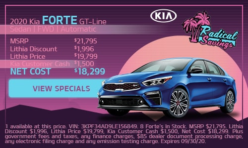 2020 Kia Forte GT-Line Sedan | FWD | Automatic