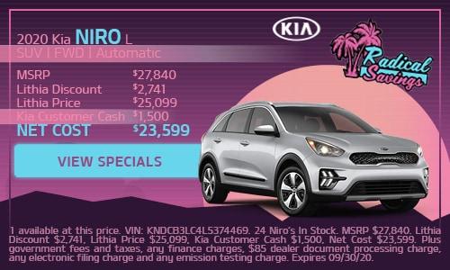 2020 Kia Niro L SUV | FWD | Automatic