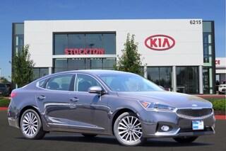 Certified Pre-Owned 2018 Kia Cadenza Premium Sedan Sedan Stockton, CA