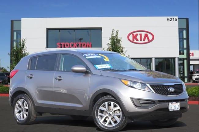Used 2016 Kia Sportage FWD 4dr LX SUV Stockton, CA