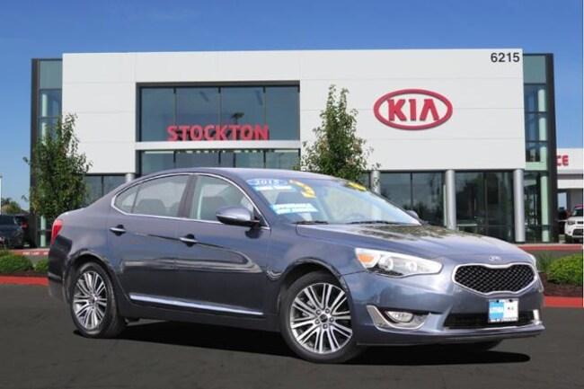 Used 2015 Kia Cadenza 4dr Sdn Premium Sedan Stockton, CA