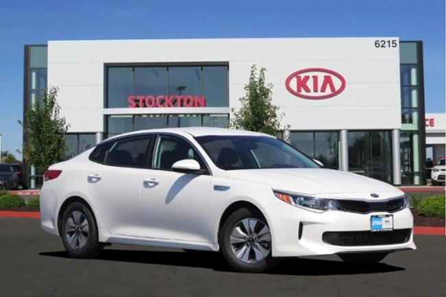 New 2018 Kia Optima Hybrid Premium Sedan Stockton, CA