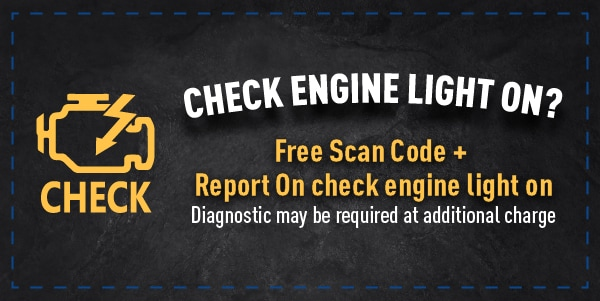 Free Scan Code + Report On Check Engine Light On