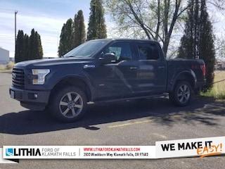 Used 2016 Ford F-150 XLT Truck SuperCrew Cab Klamath Falls, OR