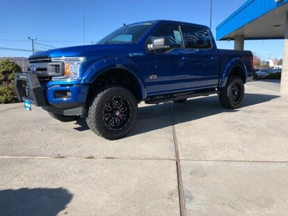 New 2018 Ford F 150 Truck Supercrew Cab Xlt Lightning