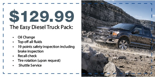 The Easy Diesel Truck Pack Special