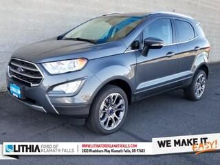 New 2020 Ford EcoSport Titanium SUV Klamath Falls, OR