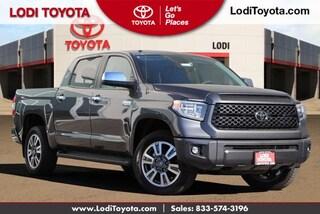 New 2019 Toyota Tundra Platinum 5.7L V8 Truck CrewMax Lodi, CA