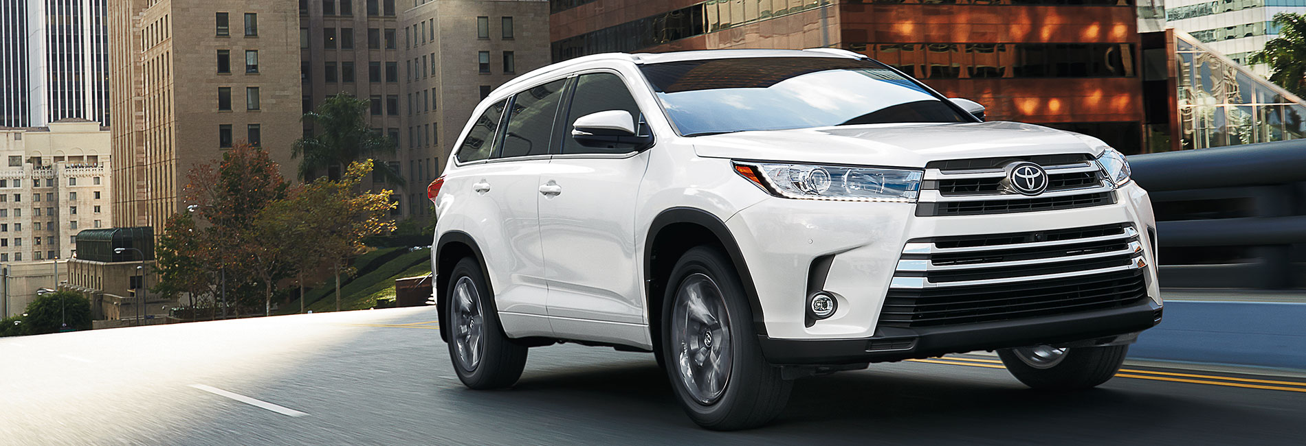 Toyota Highlander Exterior Vehicle Features