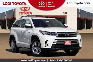 New 2019 Toyota Highlander Hybrid Limited V6 SUV Lodi, CA