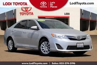 Used 2014 Toyota Camry 2014.5 4dr Sdn I4 Auto L Sedan Lodi, CA