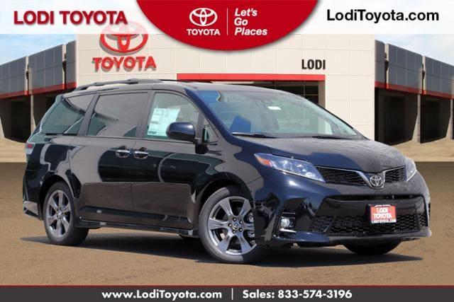 New 2020 Toyota Sienna SE Premium 8 Passenger Van Lodi, CA