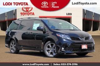 New 2020 Toyota Sienna SE Premium 8 Passenger Van Passenger Van Lodi, CA