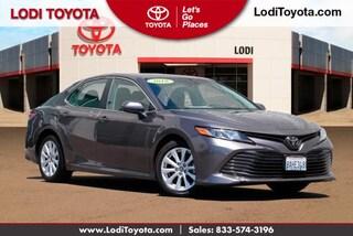Certified Pre-Owned 2018 Toyota Camry LE Auto Sedan Lodi, CA