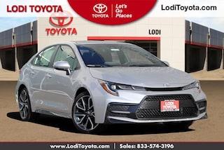 New 2020 Toyota Corolla XSE Sedan Lodi, CA