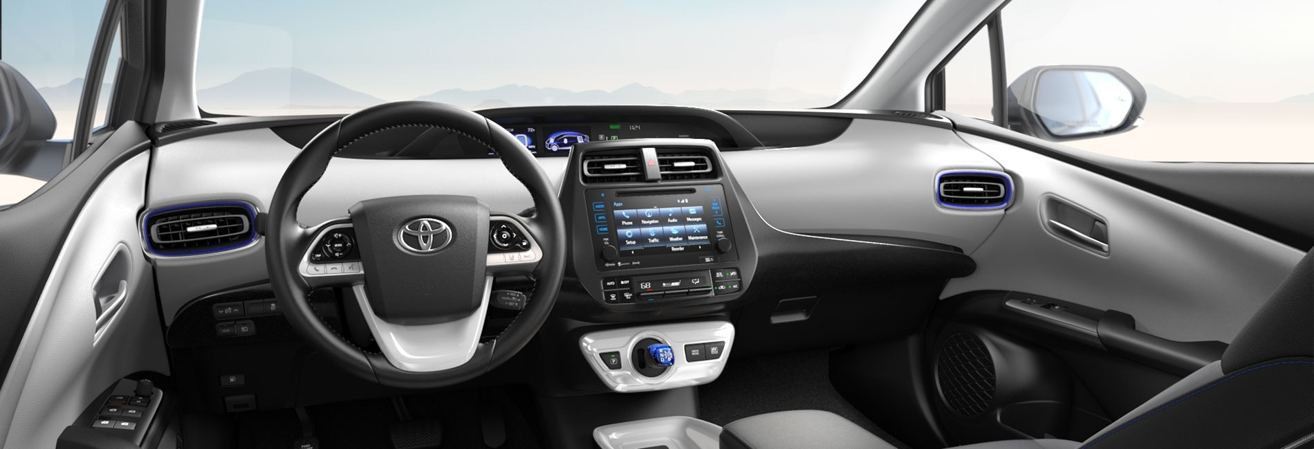 Toyota Prius Interior Vehicle Features