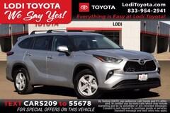 New 2021 Toyota Highlander LE SUV Lodi, CA
