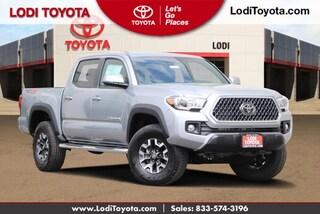 New 2019 Toyota Tacoma TRD Off Road V6 Truck Double Cab Lodi, CA