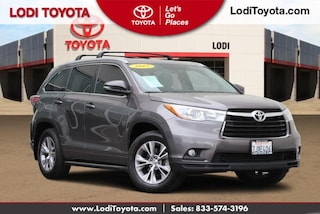 Certified Pre-Owned 2015 Toyota Highlander XLE SUV Lodi, CA