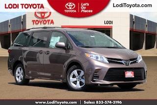 New 2020 Toyota Sienna LE 8 Passenger Van Passenger Van Lodi, CA