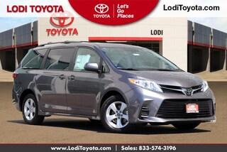 New 2020 Toyota Sienna LE 8 Passenger Van Lodi, CA