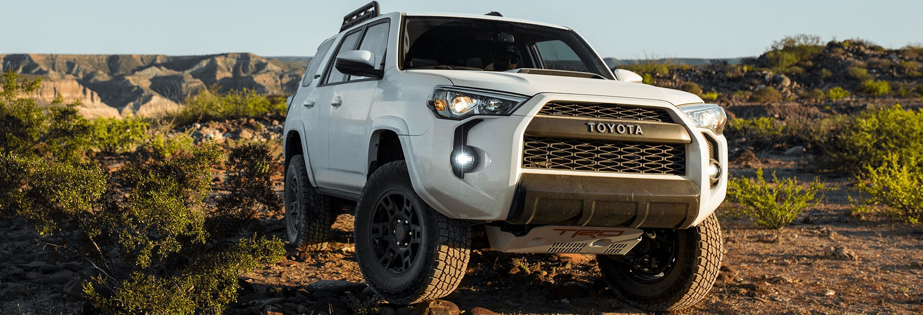 Toyota 4Runner Exterior Vehicle Features