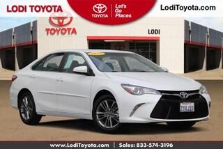 Certified Pre-Owned 2017 Toyota Camry SE Sedan Lodi, CA
