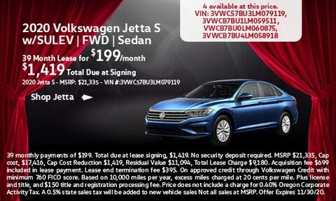 2020 Volkswagen Jetta S w/SULEV   FWD   Sedan