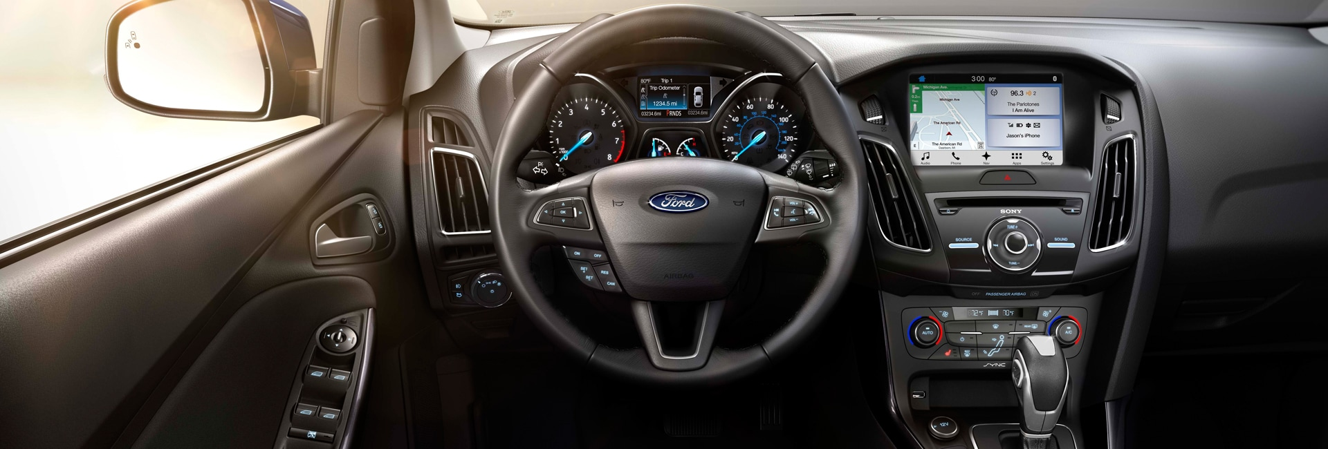 Ford Focus Interior Vehicle Features