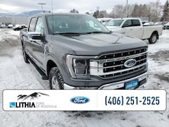 New 2021 Ford F-150 Lariat Truck SuperCrew Cab Missoula, MT
