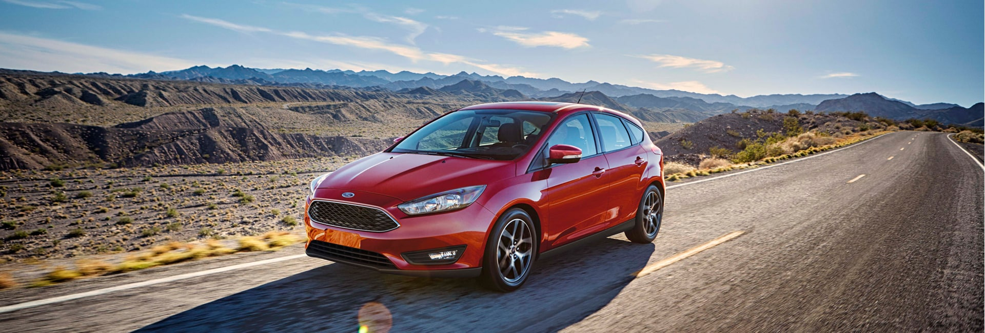 Ford Focus Exterior Vehicle Features