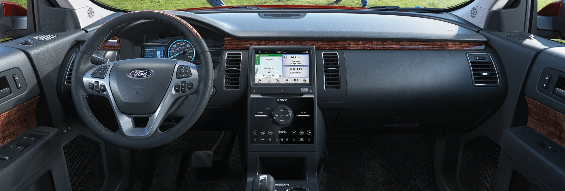 Ford Flex Interior Vehicle Features