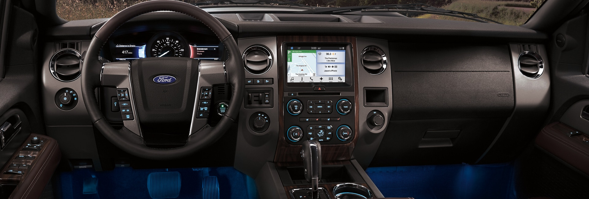 2017 Ford Expedition Interior Features