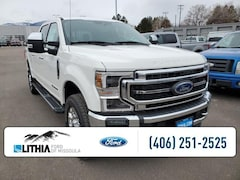 New 2021 Ford F-350 Lariat 4WD Crew Cab 6.75 Box Truck Crew Cab For Sale in Missoula