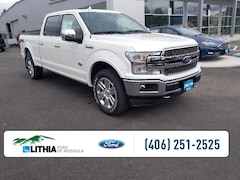 New 2019 Ford F-150 King Ranch 4WD Supercrew 6.5 Box Truck SuperCrew Cab For Sale in Missoula