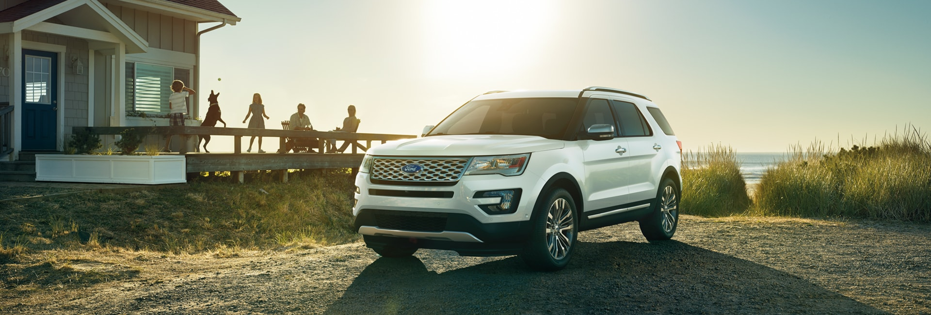 Ford Explorer Exterior Vehicle Features