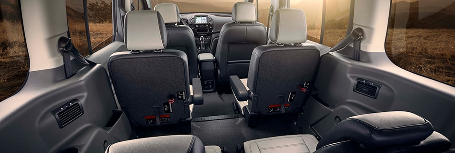 Ford Transit Interior Vehicle Features