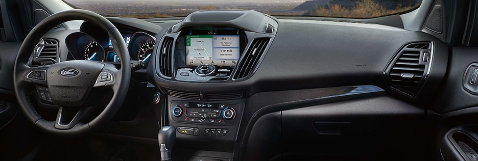 Ford Escape Interior Vehicle Features