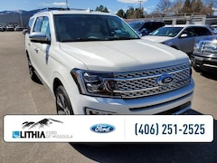 New 2021 Ford Expedition Max Platinum 4x4 SUV Missoula, MT
