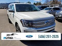 New 2021 Ford Expedition Max Platinum 4x4 SUV Missoula, MT