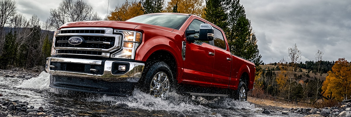 Ford F-250 Exterior Vehicle Features