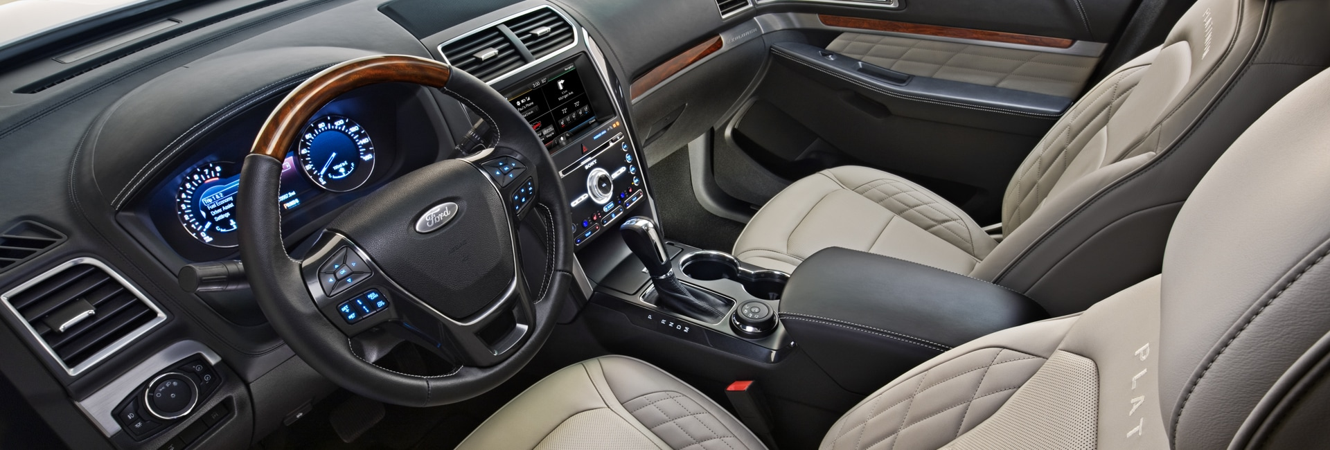 Ford Explorer Interior Vehicle Features