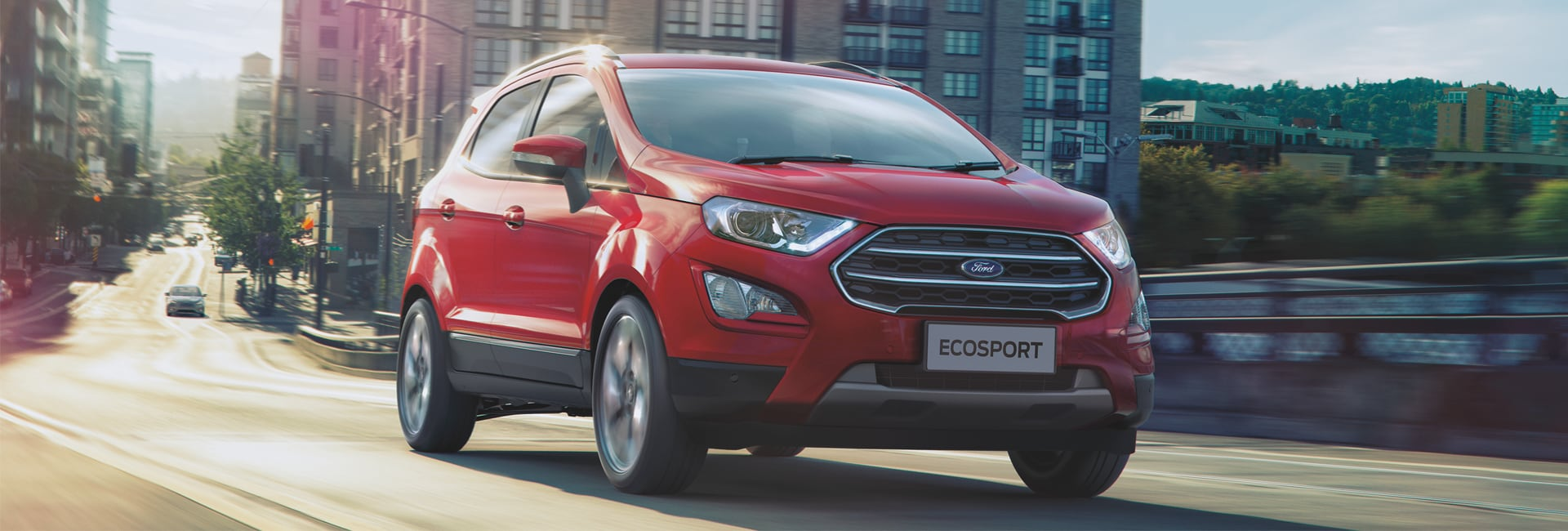 Ford EcoSport Exterior Vehicle Features